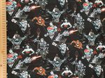 DC comics  material - Jersey Fabric 95% Cotton 5% Spandex - superman batman Price Per Metre